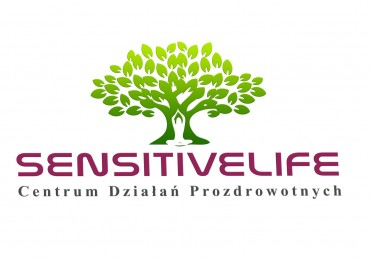 Logo Salonu Masażu Sensitivelife
